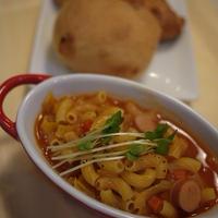 トマトスープマカロニ