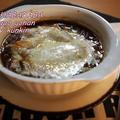 とろ~りチーズ餅のオニオングラタンスープ*お餅アレンジ* by くんきんさん