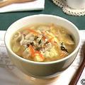 野菜たまごかきたまスープ