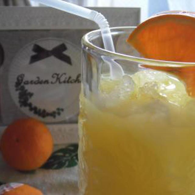簡単♪クラッシュ・オレンジジュース。