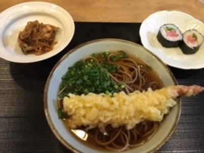 そして天ぷらそば。