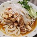 くらしのアンテナで掲載【「肉×麺」~鶏むね肉のピリ辛冷やしうどん】【マシュマロチョコ】 by とまとママさん