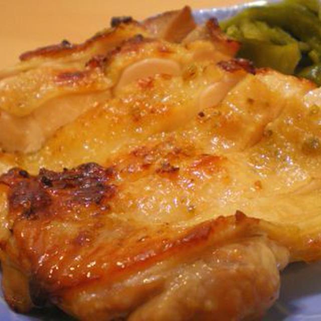 ゆず胡椒がピリッと&パリッと!鶏もも肉のグリル☆(ヘルシオ減脂メニュー)