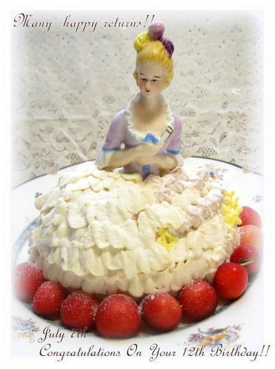 プリンセスのケーキ(^^;