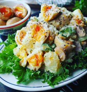 ガッツリ濃厚仕上げ♪ついつい食べちゃうじゃがいものおかずサラダ