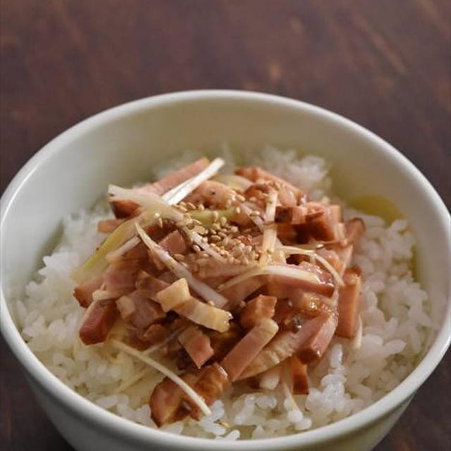 さくっと作れる!漢飯レシピ「コンビニ商品でも作れる!「チャーシュー丼」」~マイナビニュースに掲載