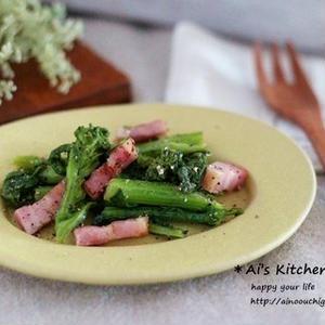 これは試してみたい!「菜の花×バター」で味わうコクうま春おかず5選