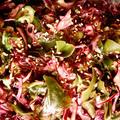 赤キャベツの酢の物/プレスサラダ