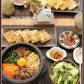 石焼きビビンパ!と、あさりとニラのチヂミ!で、おうち韓国ごはん♪