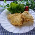 レコルト エアーオーブン  de 鶏むね肉の塩こうじチキンカツ