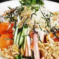 ■昼麺【具沢山 ぶっかけ冷やしうどん】自家特製タレが旨いんです♪