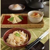 中華風味のタケノコご飯(レシピ)