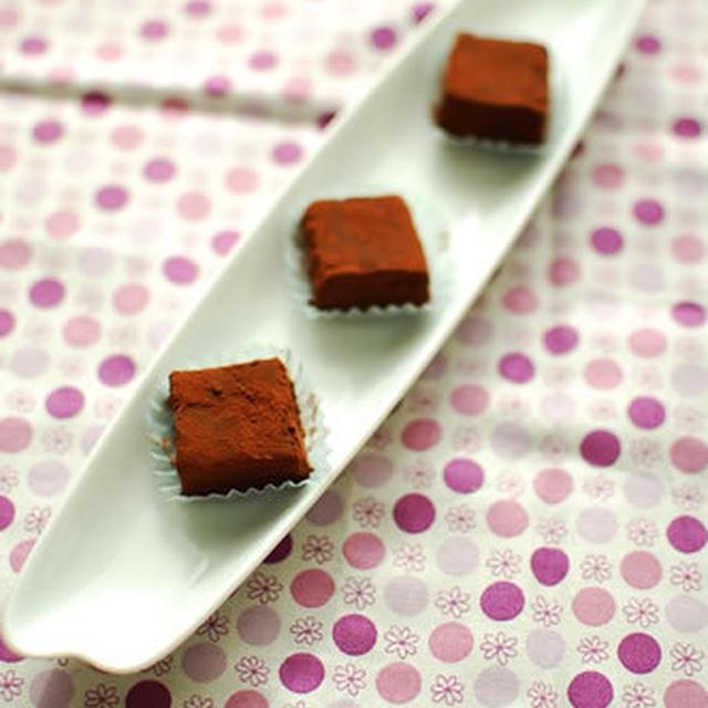 サクサク生チョコレート