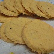 小麦粉不使用☆ 材料3つ♪ 糖質ゼロのおからチーズクッキー
