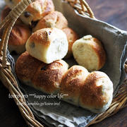 レーズンとフィグのパン