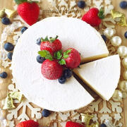 ♡混ぜて冷やして超簡単♡純白のとろける生チョコフロマージュ♡【オーブン不要*レアチーズケーキ】