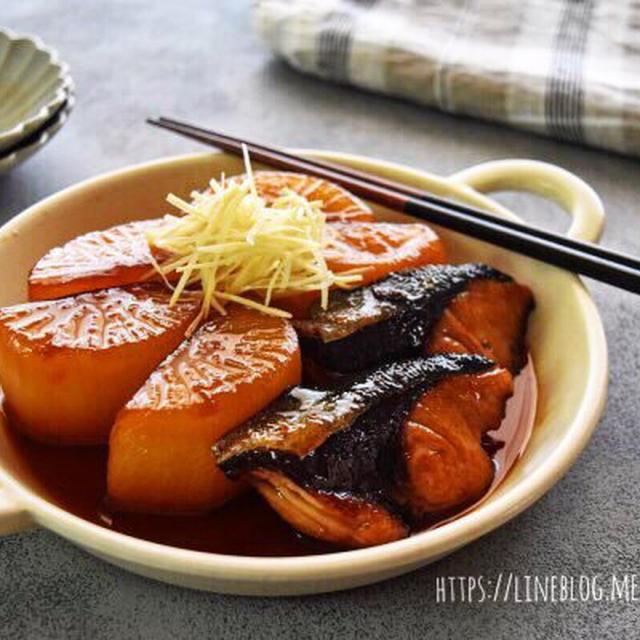 【レシピ】ぶり大根 ー覚えておきたい基本の魚料理ー #レンジ#家庭料理