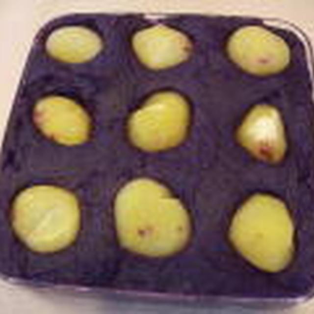 紫芋きんとん