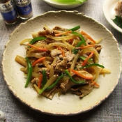 豚肉と野菜のスタミナピリ辛炒め