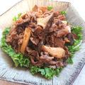豚肉とエリンギの旨ピリ辛炒め(豚こま、豚こま肉、豚こま切れ肉)