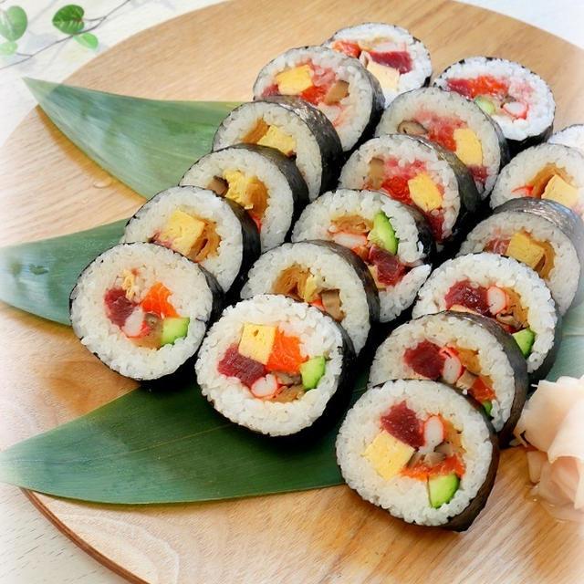 節分*恵方巻き&太巻き寿司