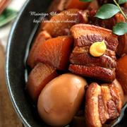 豚バラ角煮レシピ&作り方♪~お家ご飯~
