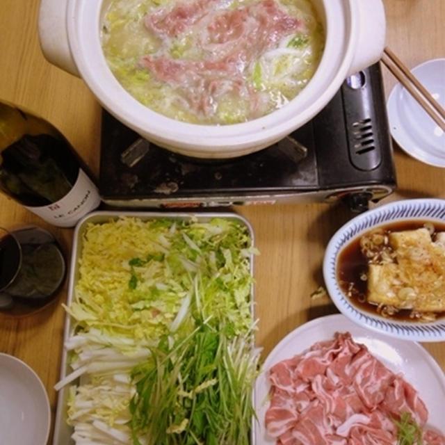 2011年12月15日(木)豚みそバター白菜鍋