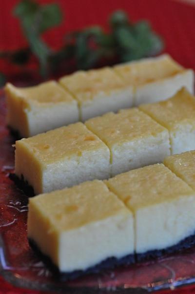 水切りヨーグルトde濃厚ホワイトチョコチーズケーキ