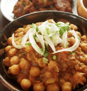 ★NEWレシピ★フライパンひとつでOK!濃厚ひよこ豆のカレー「チャナマサラ」