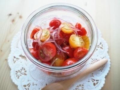 トマトと玉ねぎのマリネ☆レシピ