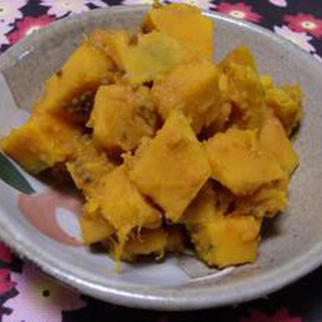 インドの野菜マジック!!かぼちゃのサブジ
