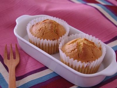 和栗ペーストでつくる、カップケーキ