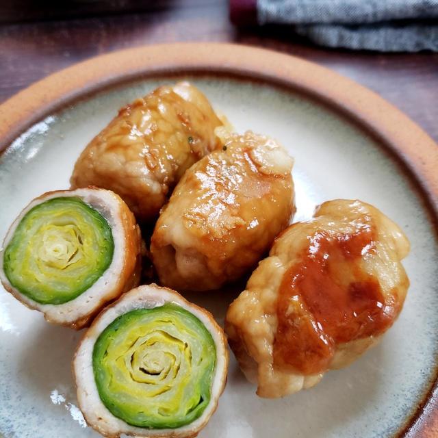 ~包丁不要!~【芽キャベツの甘辛チーズ肉巻き】#作り置き #簡単レシピ #お弁当