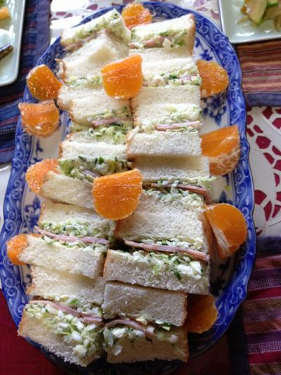 パン屋さんのサンドイッチ風☆