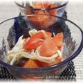 トマトとキノコのゆず胡椒マリネ
