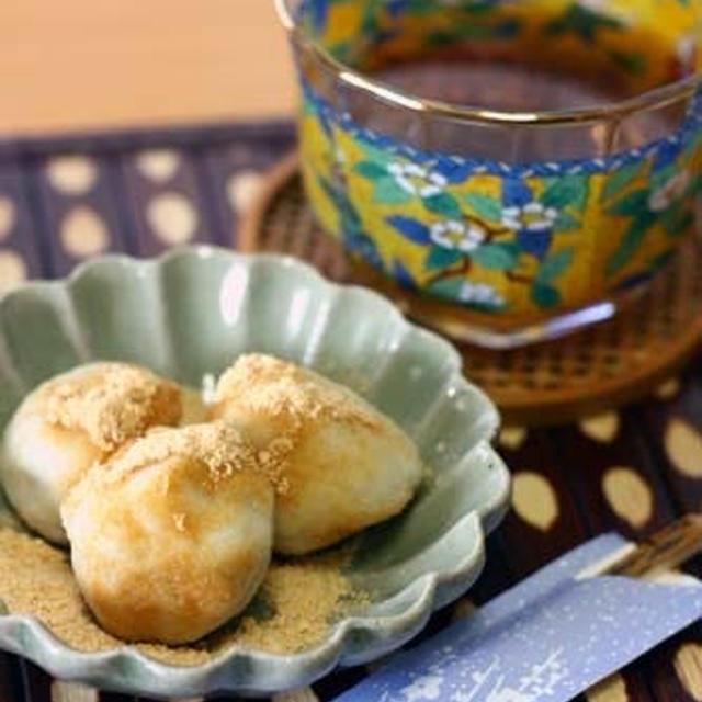白玉粉なしで!「里芋と豆腐の月見団子」しっとり柔らかめで子供も食べやすい♪