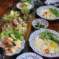 ◆グリーンカレーと筍尽くしのおうちごはん♪~ゆるやか糖質制限中♪