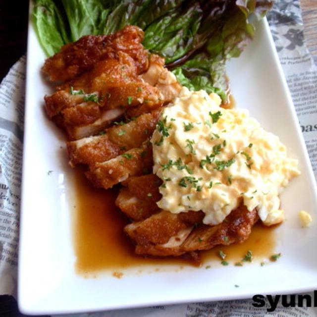 【簡単カフェごはん】鶏胸肉で*本格チキン南蛮