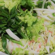 白菜と豚バラのミルフィーユの鍋 豚バラと大根の炊き込みご飯