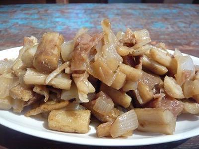 梅とたたきごぼうの煮もの vegan レシピ