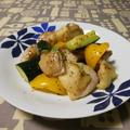 鶏肉の粒マスタード炒め