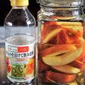 ■美容と健康に^^【美味しいリンゴ酢作り】簡単!!5分♪