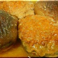 しいたけの肉詰め煮の~カンタン酢のお仕事