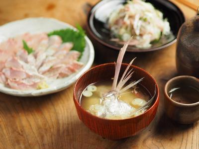 チダイ(チコダイ)の味噌汁