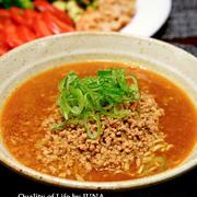 我が家で今ブームの担々麺レシピ~完成形~