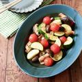 『コロコロ可愛い♡』ミニトマトと夏野菜のマリネ