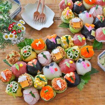 お父さんも感動!父の日に作ってあげたい手まり寿司の作り方