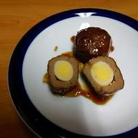 うづら卵入り肉団子は、オイスーでくっきり味!