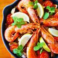 魚介のトマトパエリア♪簡単クリスマスおもてなしレシピ
