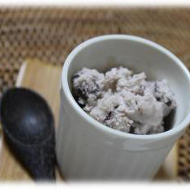 絶品☆あずき缶で小倉アイス